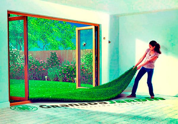 Deja que Granada Jardín entre en tu casa