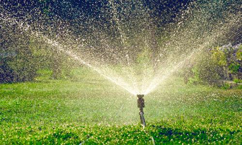 Montaje de riego automático en Granada Jardín